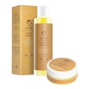 AMOFIA Organic Baby Eczema Soothing Set(Designed for G6PD, Nut, Peanuts and Gluten Users)