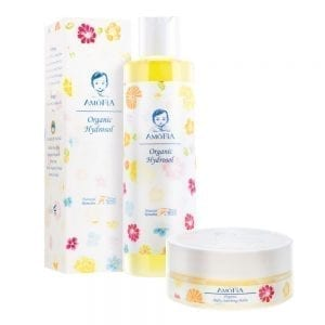 AMOFIA Orgainc Eczema Soothing Travel Pack